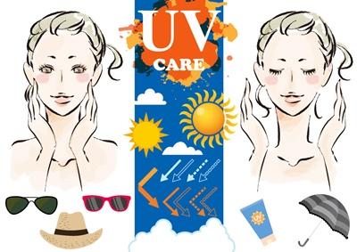 肌を守る紫外線対策グッズや日焼け止めについて