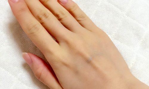 手の甲に血管が浮き出る原因は老化!