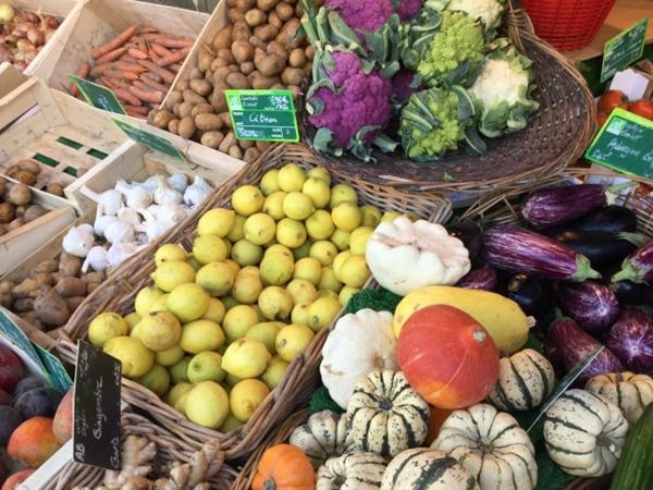 フランスにある日本では珍しい食べ物や野菜
