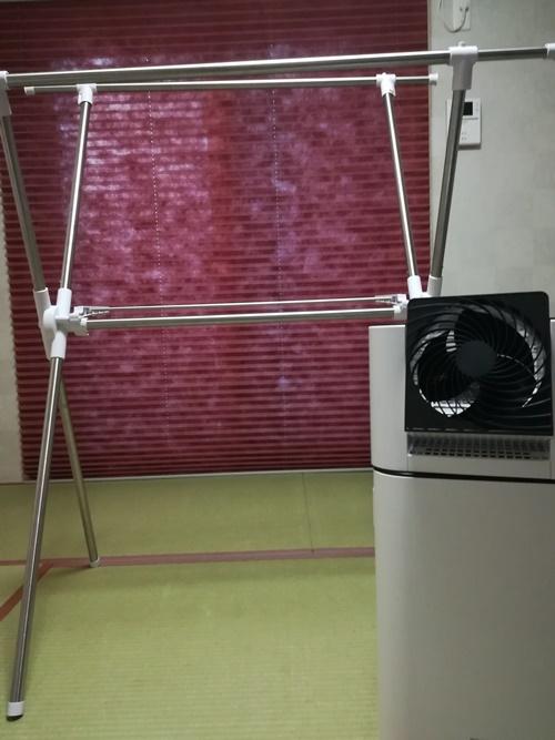 生乾き臭を発生させない為には除湿をする事で乾く時間を短縮!