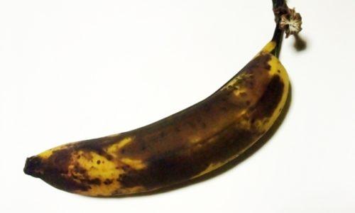 バナナが黒い!腐ってる?見分け方は?食べても良い状態なの?
