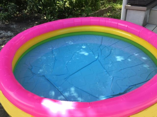 家庭用ビニールプールの水は再利用する人って意外に多い?!