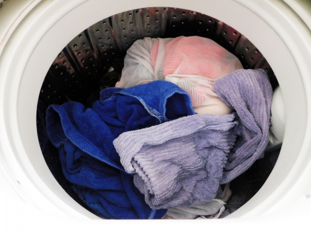洗濯でカビがうつる事はない